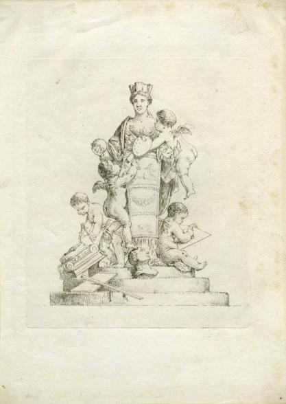 Christian Bernhard Rode, Alegoria malarstwa i rzeźby