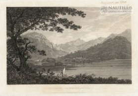 Patterdale from Martindale Fell [Widok wioski Patterdale od Martidale Fell], 1788