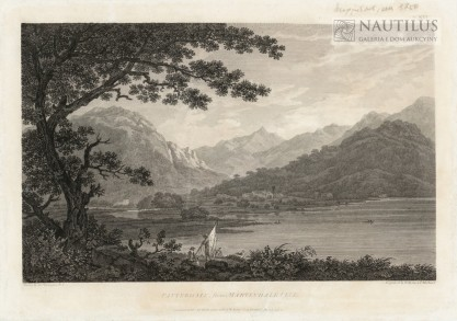 Thomas Medland, Patterdale from Martindale Fell [Widok wioski Patterdale od Martidale Fell]