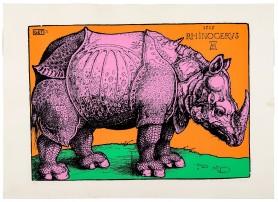 Nosorożec Dürera [Rhinocerus], 1974
