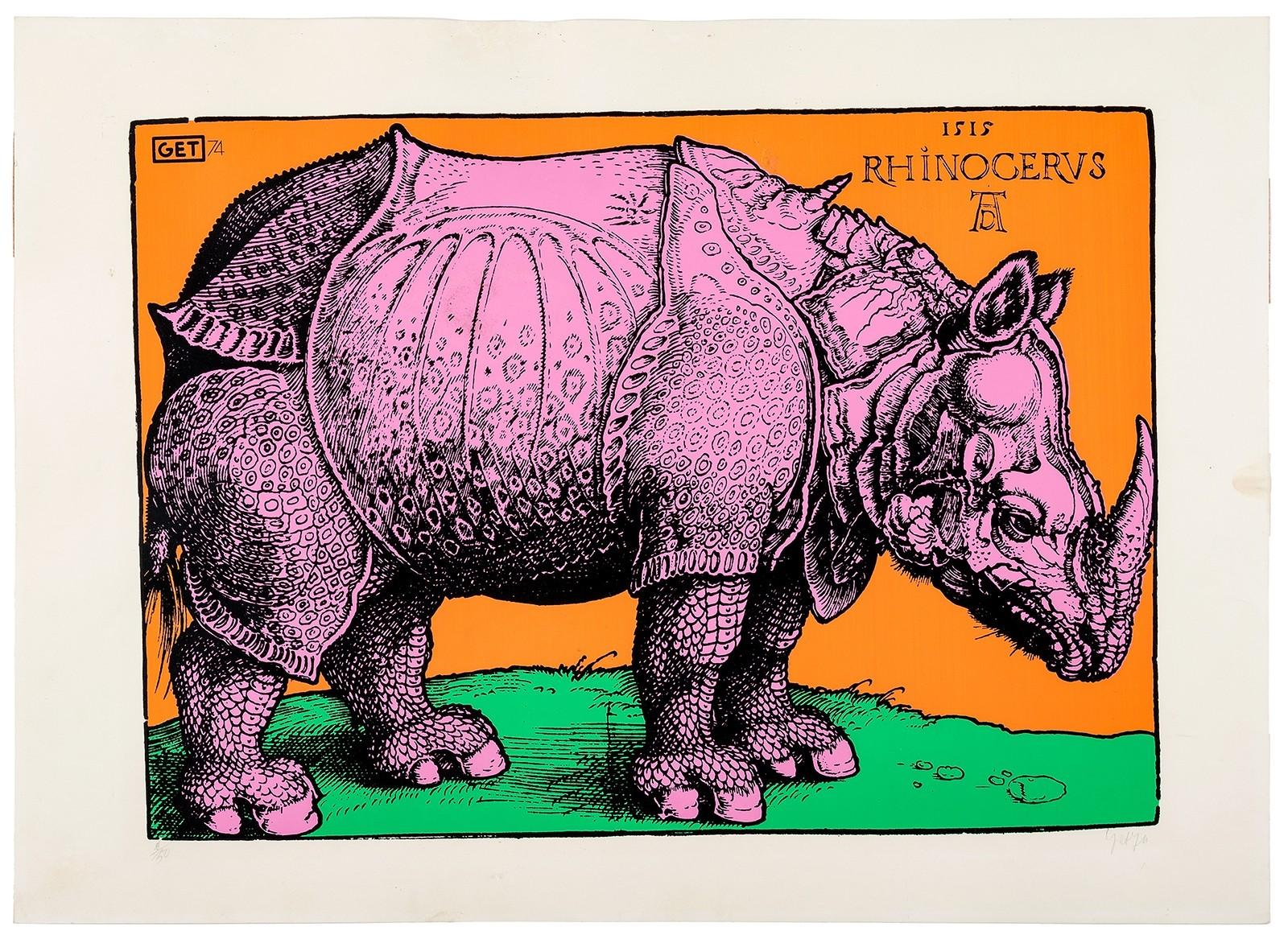 Nosorożec Dürera [Rhinocerus]