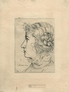 Portret kobiety, 1910