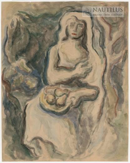 Jerzy Skarżyński, Kobieta z owocami