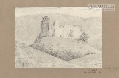 Wojciech Betley, Ruiny zamku w Bochotnicy