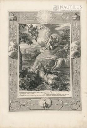 Io zmieniona w krowę, Merkury ucina głowę Argusowi, 1730