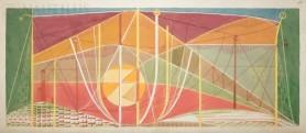 Pejzaż techniczny ze słońcem, 1981
