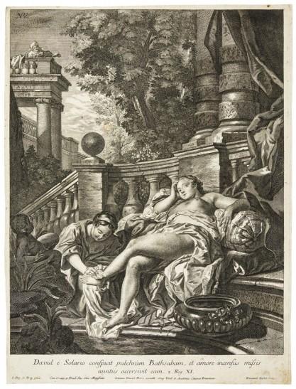Jean-François de Troy, Dawid podglądający Batszebę w trakcie kąpieli
