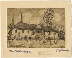 Dom w ogrodzie licealnym, 1927