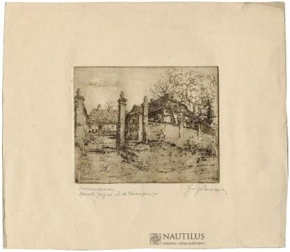 Józef Pieniążek, Domki przy ul. A. de Beaupre'go
