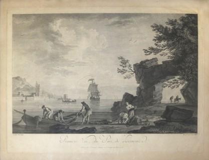 Joseph Claude Vernet, Widok portu w Livorno