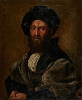 Portret Baldassare Castiglione wg Rafaela, 1929