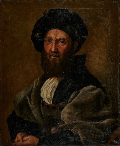 Zygmunt Honiek, Portret Baldassare Castiglione wg Rafaela