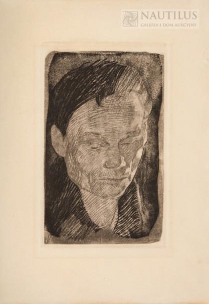 Käthe Kollwitz, Autoportret