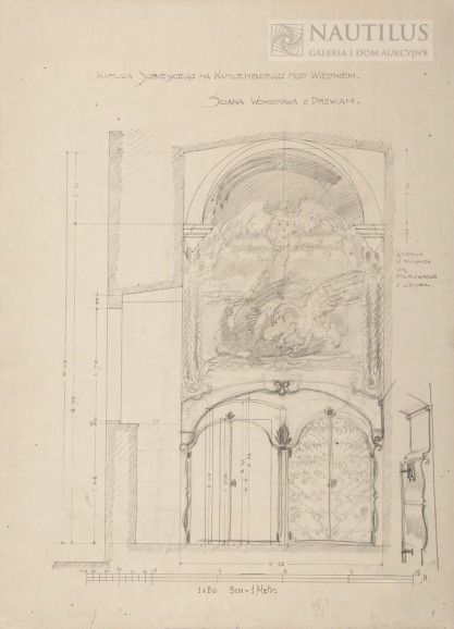 Józef Mehoffer, Projekt wystroju kaplicy Jana III Sobieskiego na Kahlenbergu
