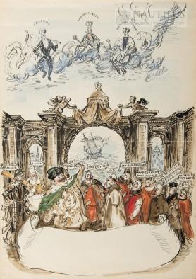 Karta tytułowa do poematu Juliusza Słowackiego