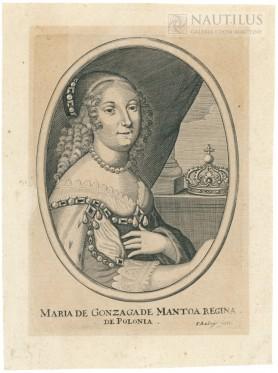 Ludwika Maria Gonzaga, po 1645
