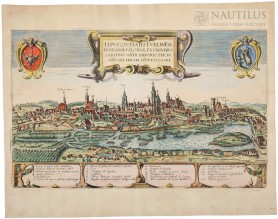 Panorama Lublina, ok. 1617