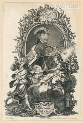 Portret Stanisława Augusta Poniatowskiego z symboliczną sceną porwania przez konfederatów barskich, 1772