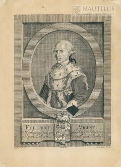 Christian von Mechel, Fryderyk August I Wettyn