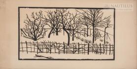 Ogród w zimie, 1897