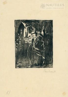 Ocalony z pogromu, początek lat 30. XX wieku