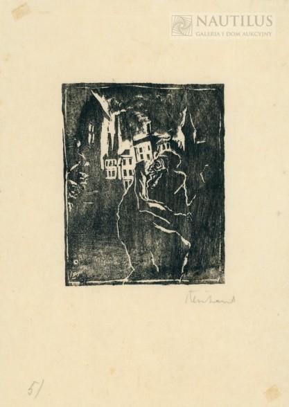 Jakob Steinhardt, Ocalony z pogromu