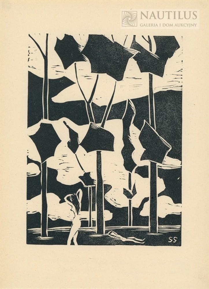 Grafiki, 1916 - 1963 Teka 10 linorytów
