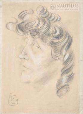 Portret Erny Rosenstein, po 1945 r.