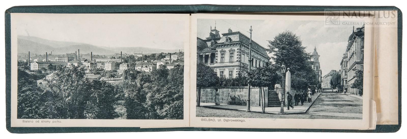 Bielsko-Biała. Album 12 pocztówek