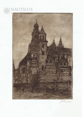 Kraków. Katedra na Wawelu, lata 20. XX wieku