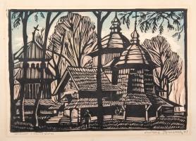 Cerkiew w Chołojowie, 1929