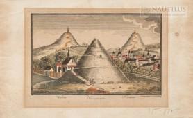 Kopce krakowskie – widok fantastyczny, ok. 1830