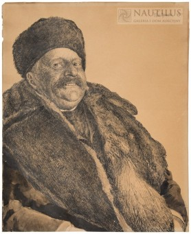 Studium portretowe szlachcica z Ukrainy, 1907