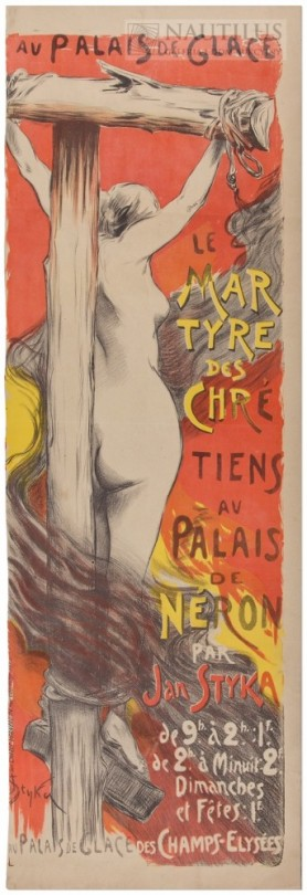 Le Martyre des Chretiens [Męczeństwo chrześcijan], 1900