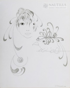 Kobieta i ptaki-dziwaki, 1989