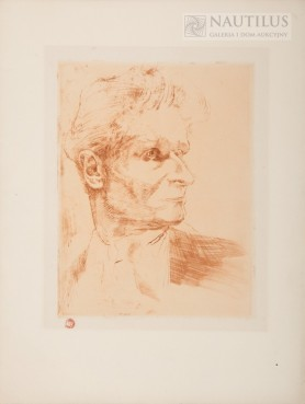 Autoportret, trzy czwarte własnej głowy, 1926