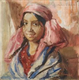 Portret Cyganki, ok. 1938