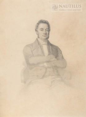Portret nieznanego mężczyzny, 1847