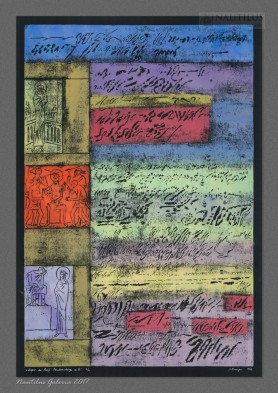 """Zapis do """"Pasji"""" Pendereckiego część II, 1967"""