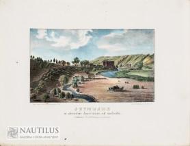 Szymbark w obwodzie Jasielskim, od zachodu, 1847