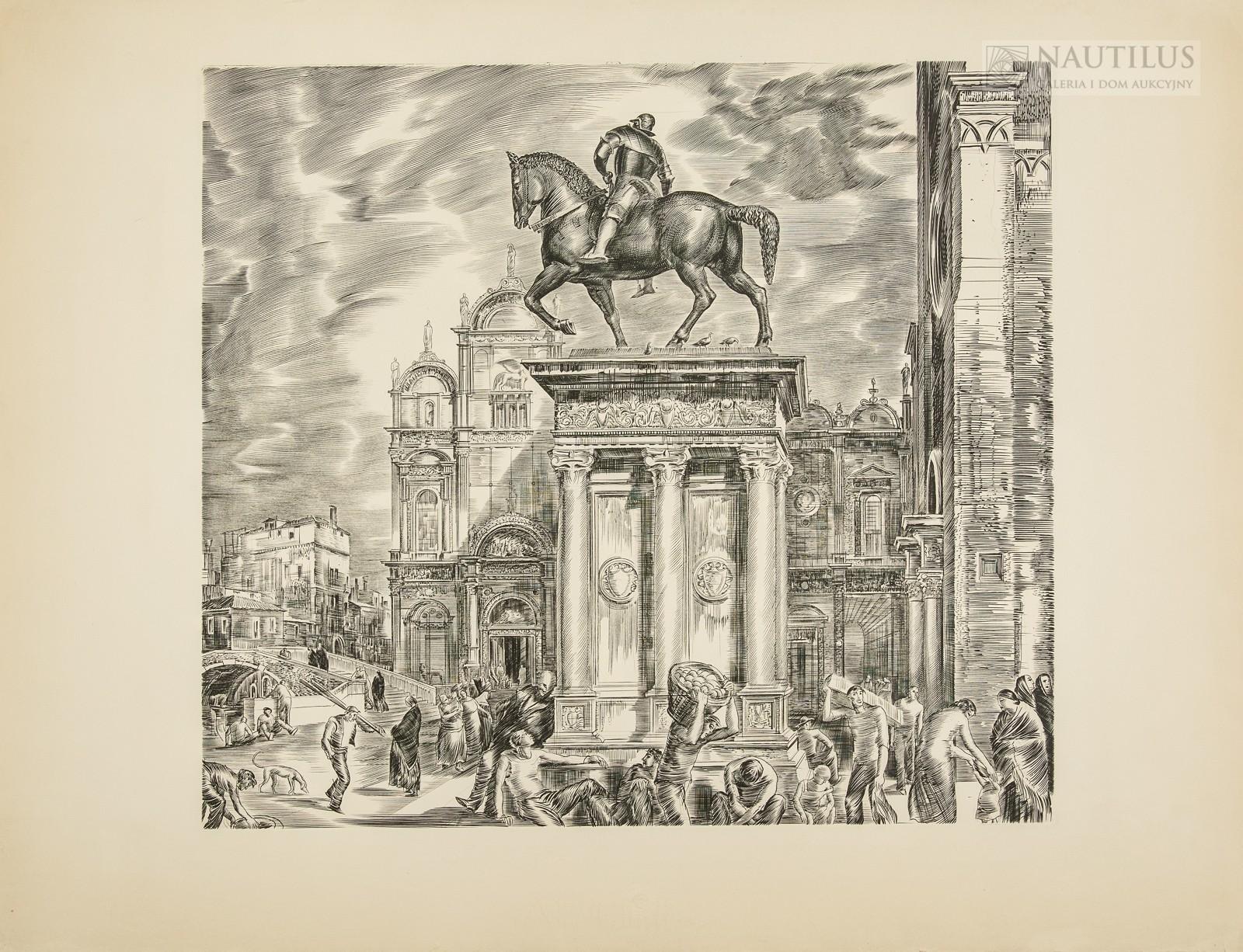 Pomnik Bartolomeo Colleoniego w Wenecji