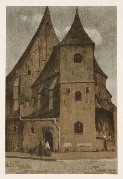 Włodzimierz Błocki, Kościół św. Marka