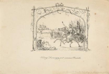 Józef Swoboda, Kozacy lisowczycy pod murami Brańska
