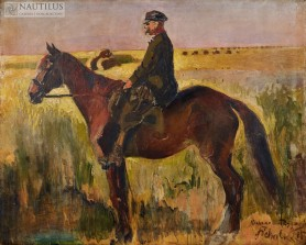 Portret konny Zygmunta Zubalewicza, 1895