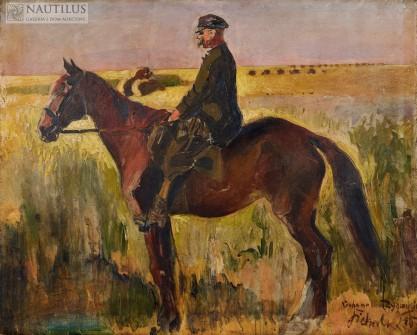 Kazimierz Sichulski, Portret konny Zygmunta Zubalewicza