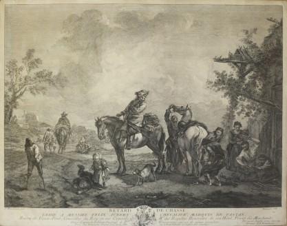 Pierre François Beaumont, Retard de Chasse [Kucie konia]