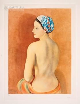 Akt w turbanie [Nu au turban], 1952