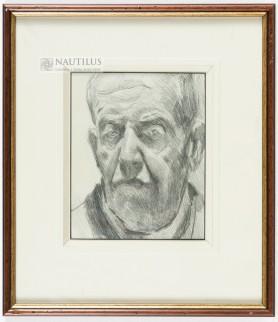 Autoportret, koniec lat 30. XX w.
