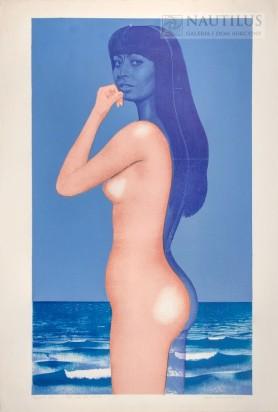 Akt na tle morza, 1973