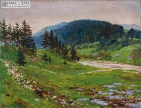 Gubałówka II [Widok od strony Dzianisza], 1916